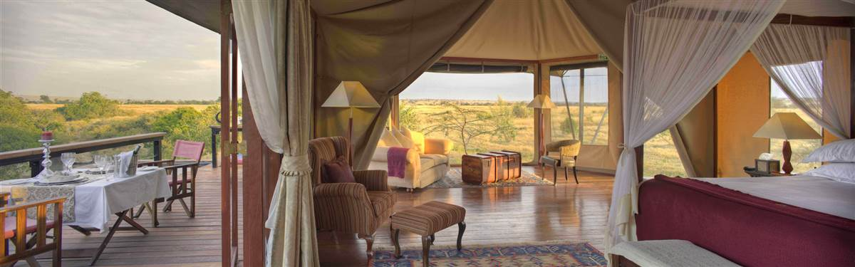 olare mara kempinski honeymoon tent