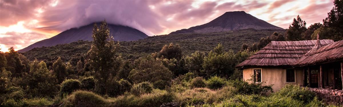volcanoes safaris view