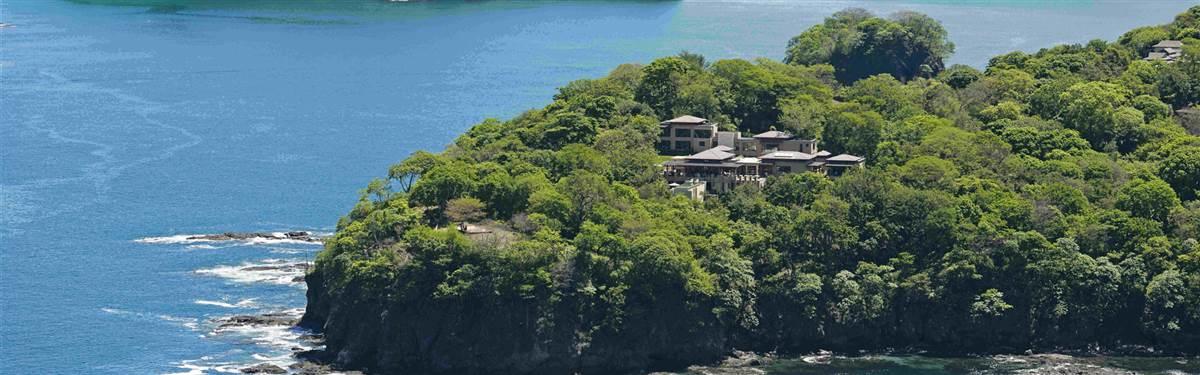 villa manzu  costa rica aerial manzu