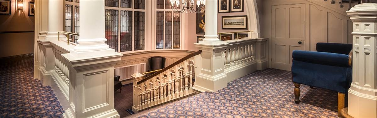 rzs Bishops Gate Hotel Grand Staircase