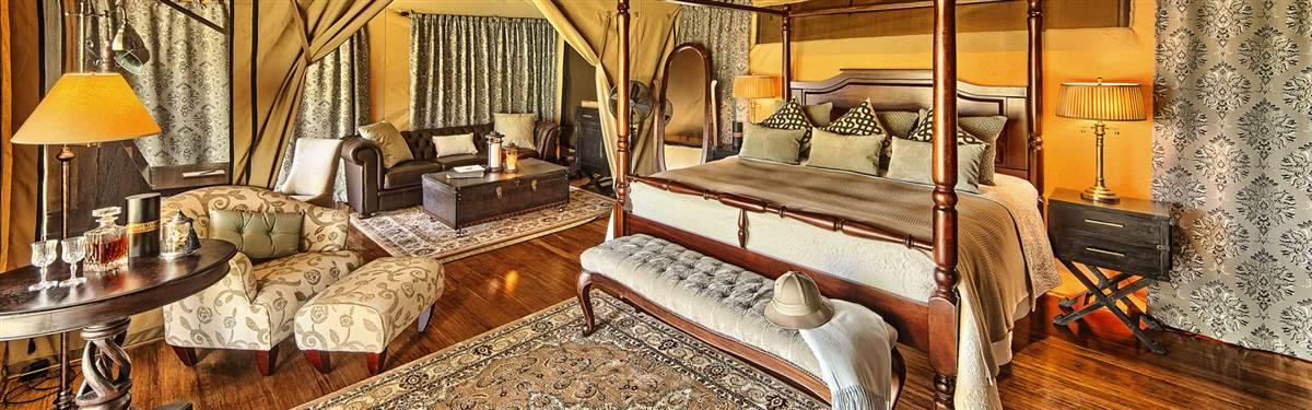 sand river masai mara tent interior