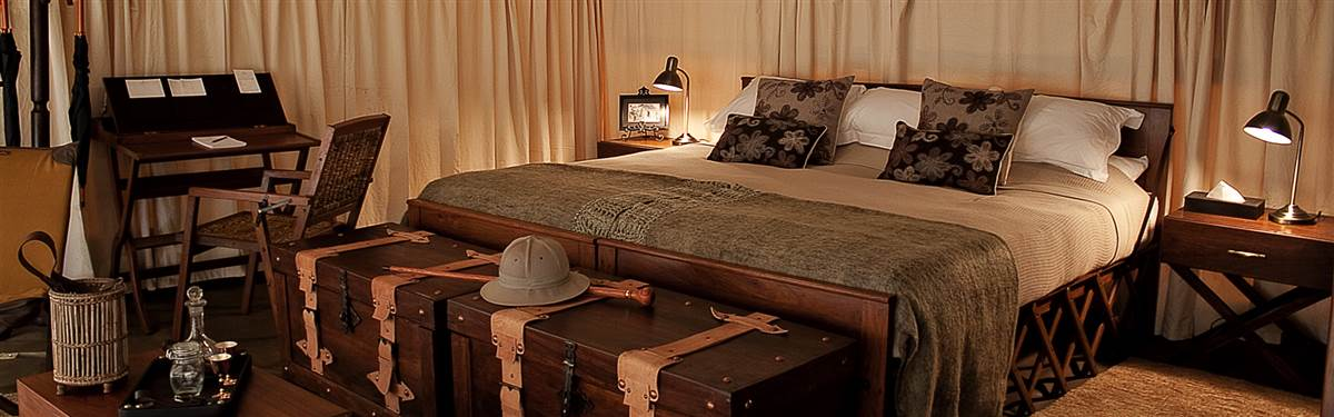 serengeti pioneer camp tent interior