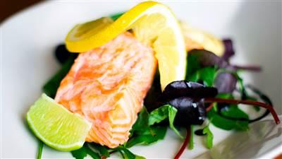 Aughrus Restaurant - Salmon
