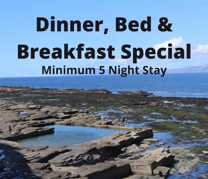 Dinner, Bed Breakfast Special