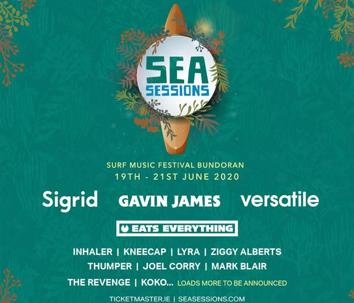 Sea Sessions 2020 3 Nights BB & Weekend Ticket