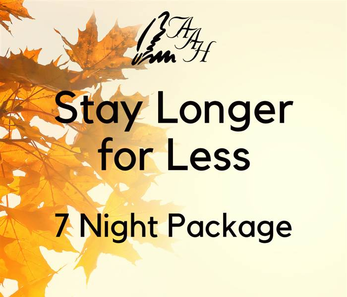 Stay Longer for Less 7 Night Package