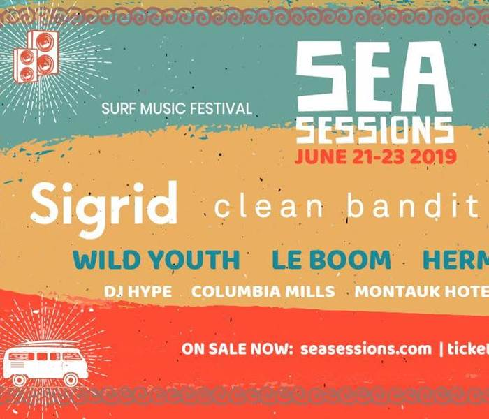 Sea Sessions 2019 3 Nights BB & Weekend Ticket