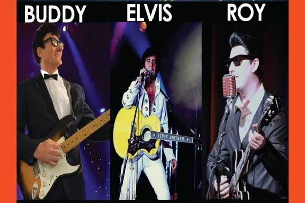 WE THREE KINGS PRESENT ONE NIGHT WITH YOU - BUDDY, ELVIS & ROY