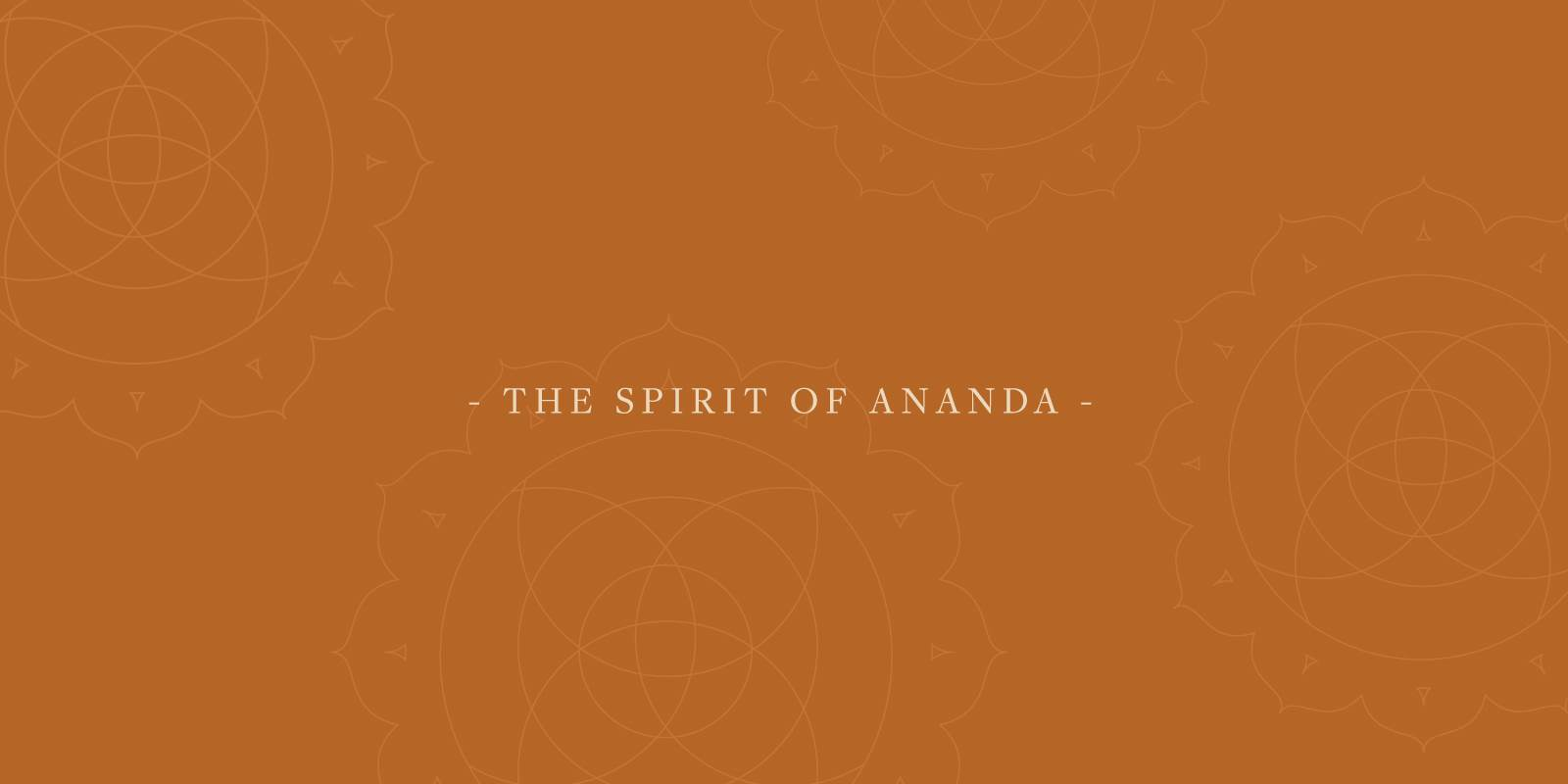 Ananda spirit header
