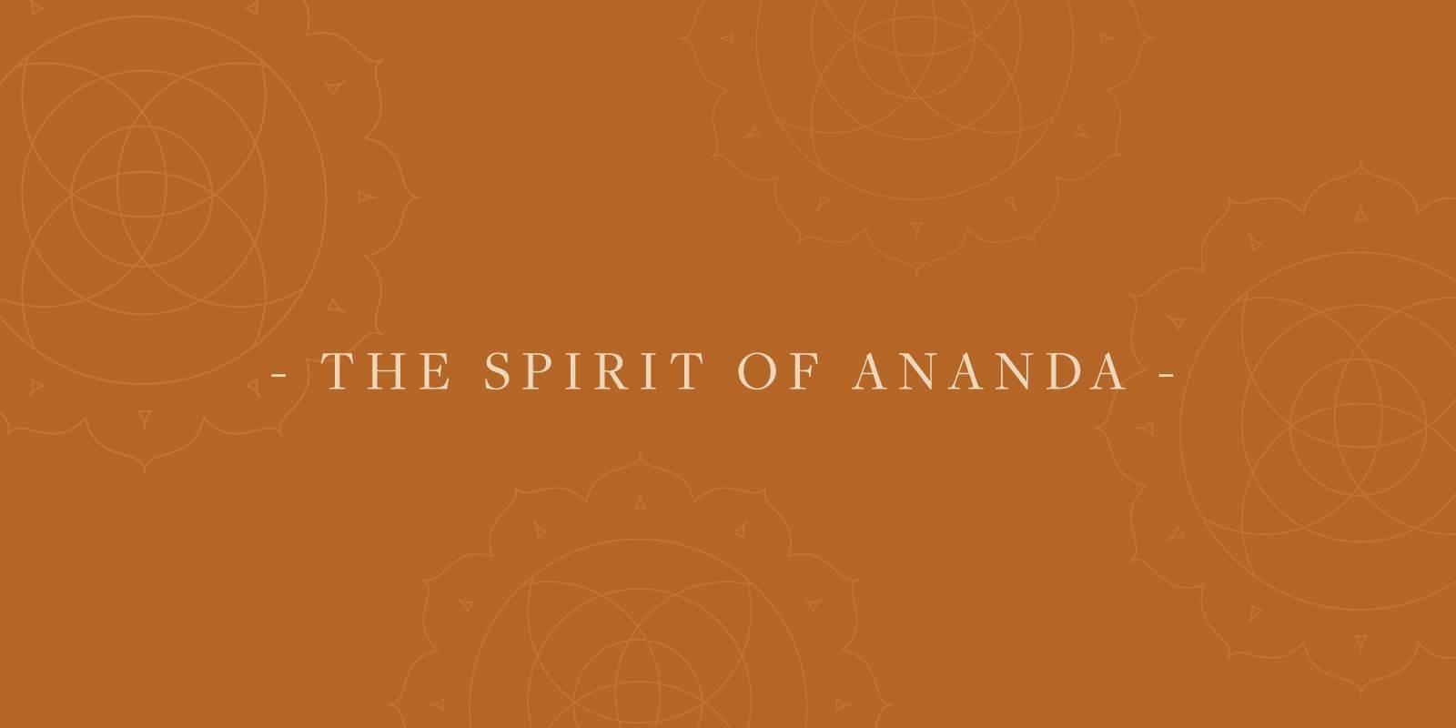Ananda spiritFB
