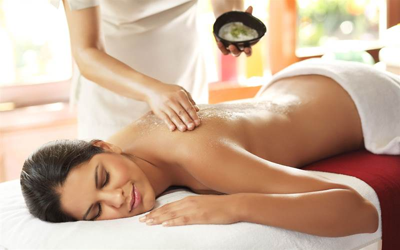 Body treatments at Ananda Spa, luxury hotel in The Himalayas