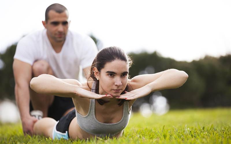 Outdoor Boot Camp at Ananda Spa, luxury hotel in The Himalayas