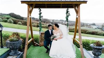 Couple on swing