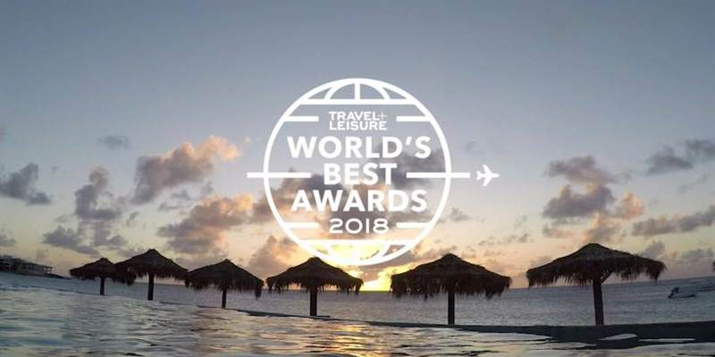 Travel Leisure Awards 2018