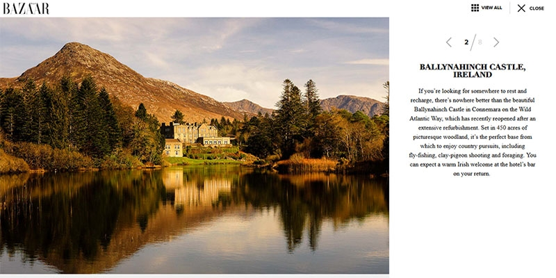 8 Great Castle Hotels Harpers Bazaar