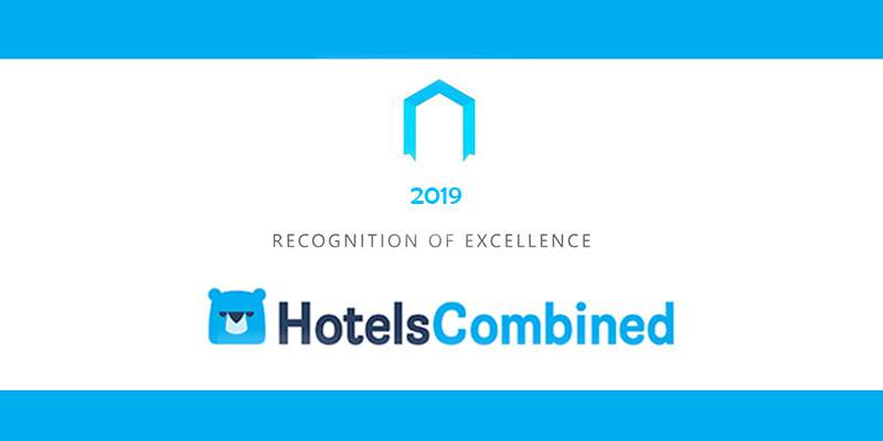 HotelsCombined Recognition of Excellence for 2019 in Ireland
