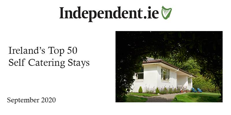 Irish Independent: Ireland's Top 50 Self-Catering Stays
