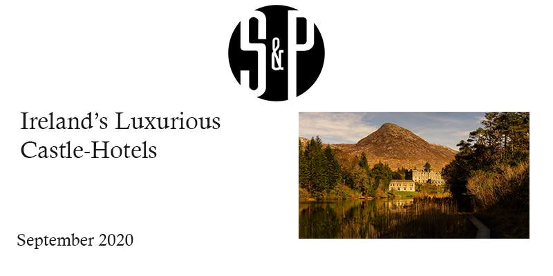 Social Personal Magazine Irelands Luxurious Castle-Hotels