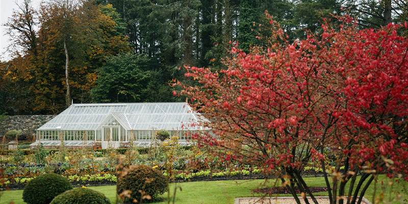 Visit the Walled Gardens at Ballynahinch Castle
