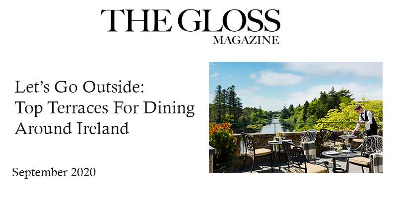 The Gloss: Lets Go Outside Top Terraces For Dining Around Ireland