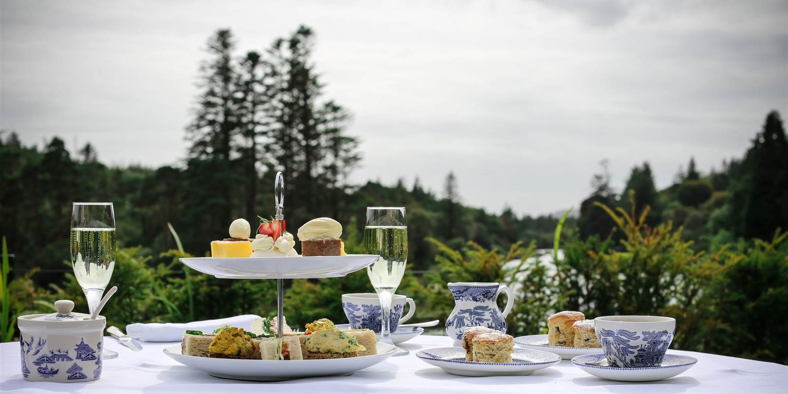 Afternoon Tea at Ballynahinch