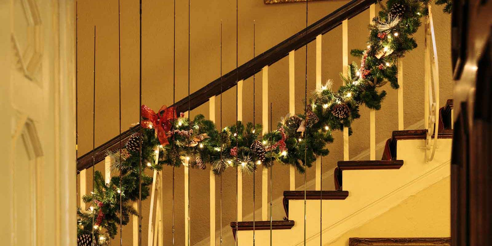 Ballynahinch Stairway at Christmas