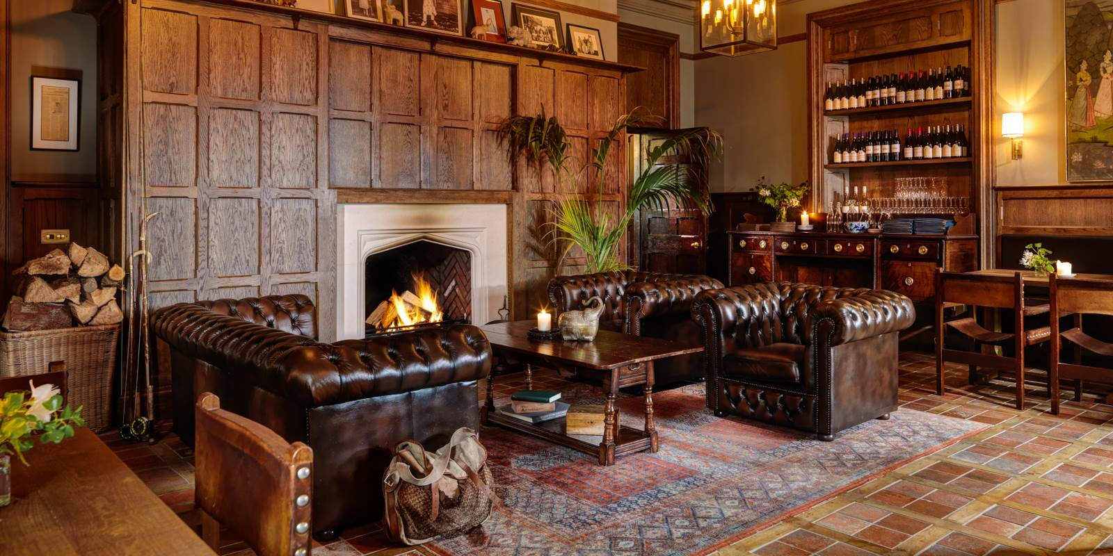 Ranji Room at Ballynahinch Castle