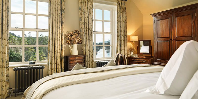Located in the old house, these charming rooms have wonderful river views