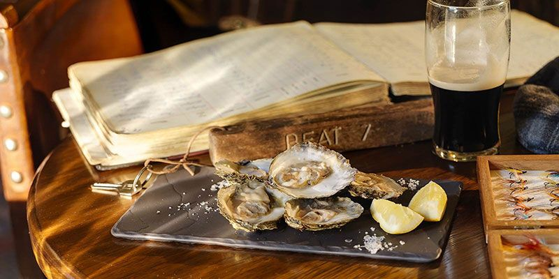 Oysters in the Fishermans Pub