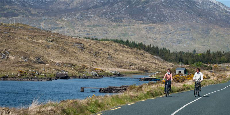 Cycling Connemara