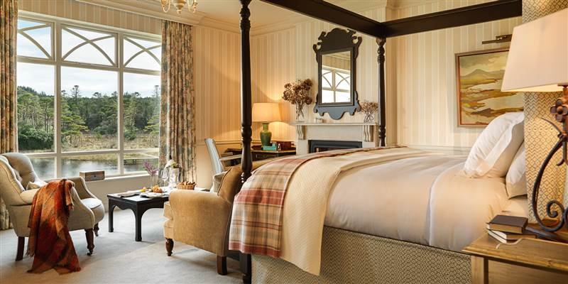 Ballynahinch Luxury Bedroom