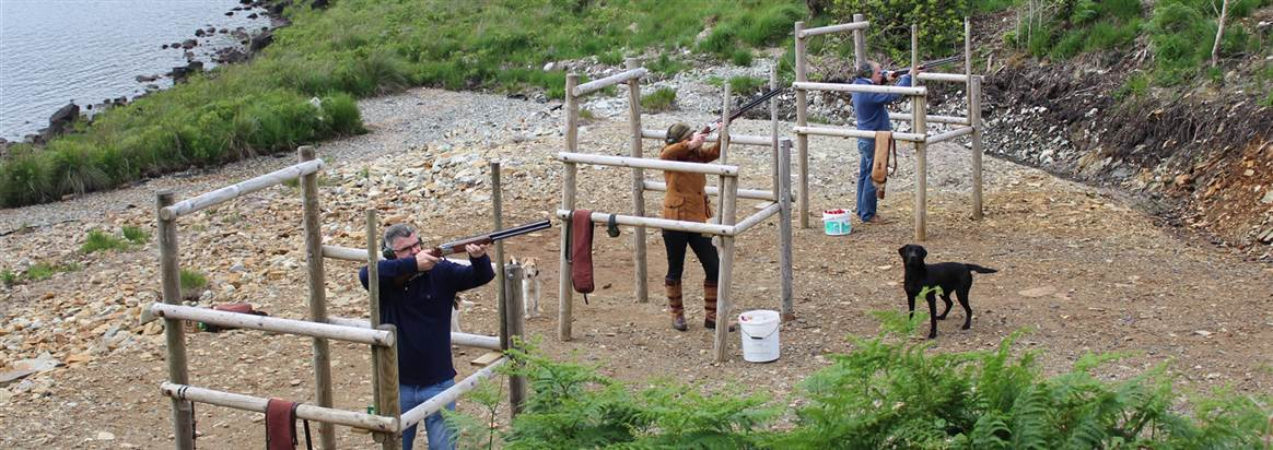 clay pigeon shooting galway ireland