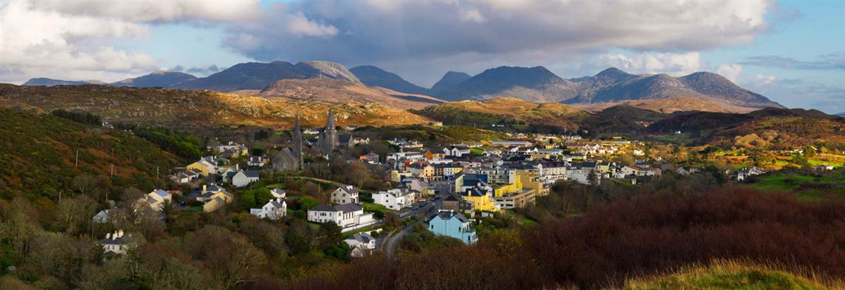 Clifden town stay