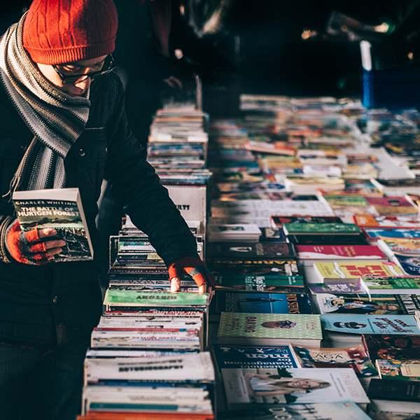 Southbank Centre Book Market 1