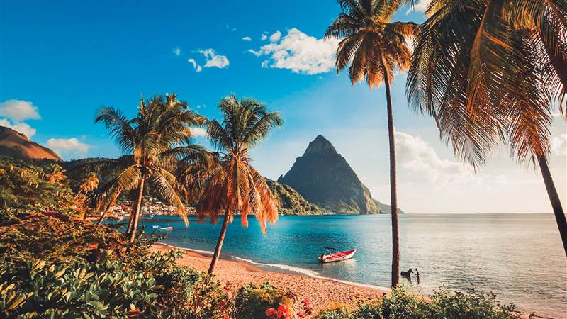 Fly from St.Lucia to Bequia