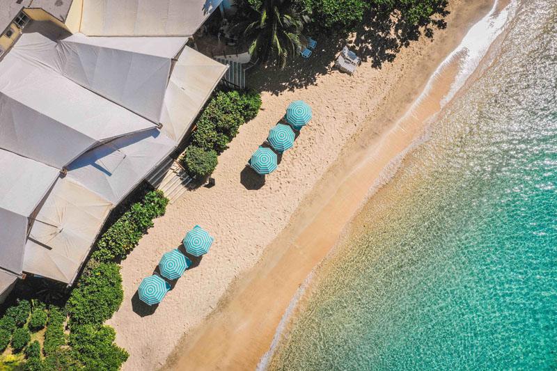 Jacks Beach Bar aerial