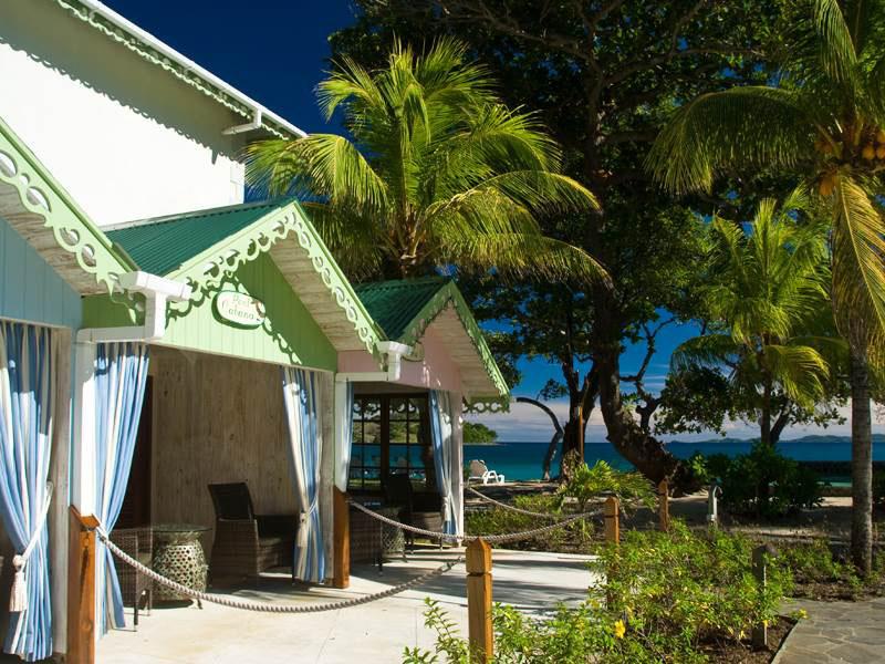 Bequia Beach Hotel Pool Cabanas