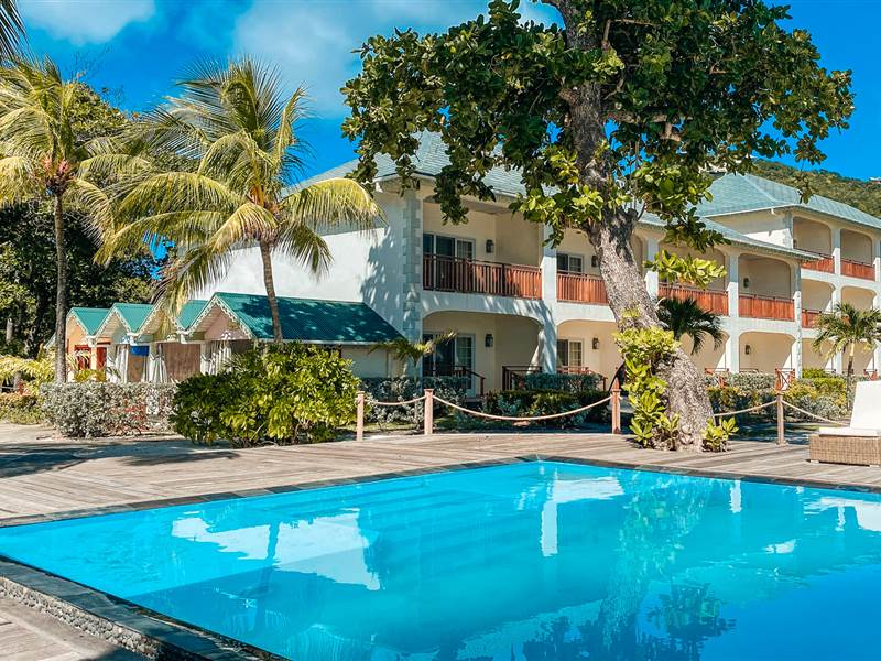 Saltwater Pool  Bequia Beach Hotel