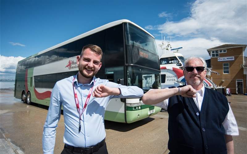 Hovertravel teams up with Seaview Servic