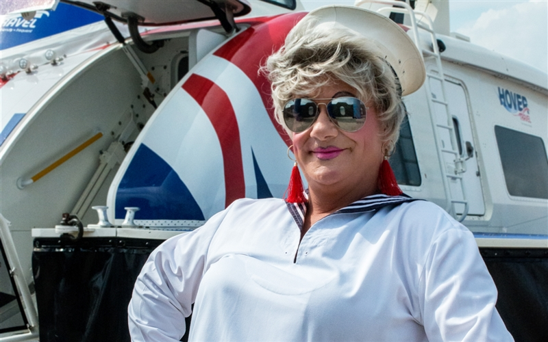 Miss Jason atHovertravel Southsea
