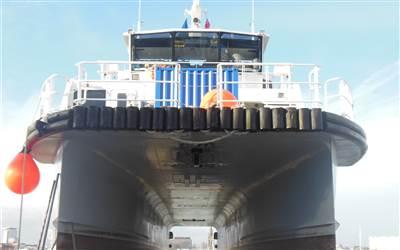 Griffon - Wind Farm support vessel
