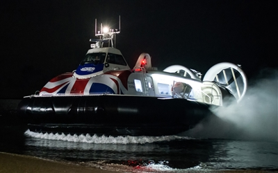 Hovertravel Winter timetable