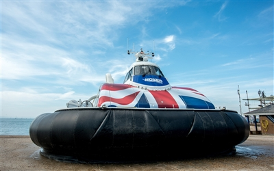 Hovertravel at Southsea  media