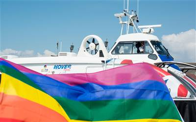 Hovertravel - Isle of Wight Pride