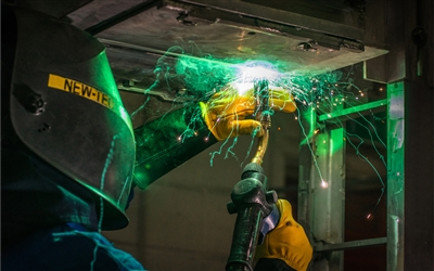 WELDING SHOWER By Andy Newman