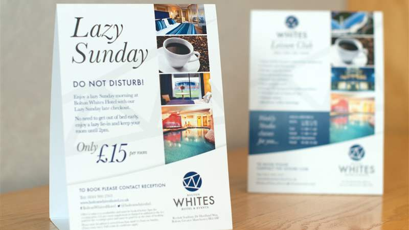 Lazy Sundays at Bolton Whites