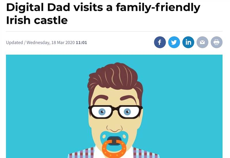 Digital Dad visits our family friendly castle