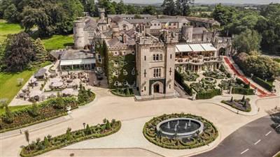 Cabra Castle Aerial