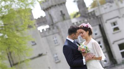 Wedding Couple Cabra Castle