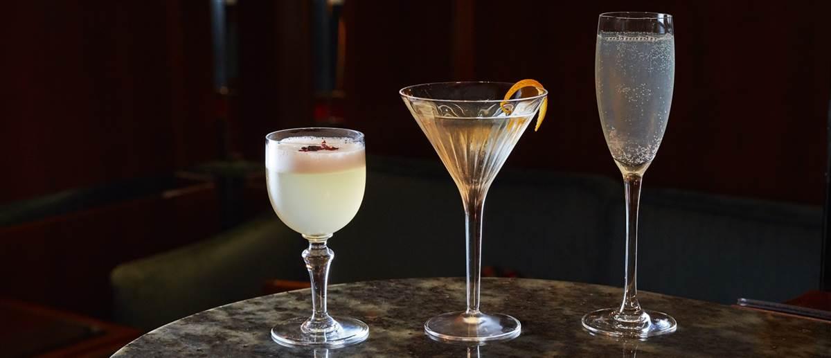 Aperitivo hour cocktails